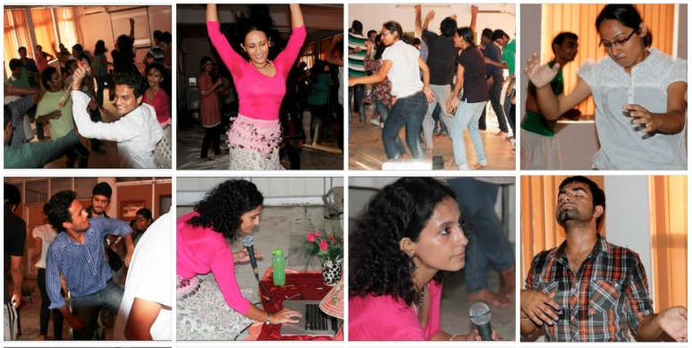 Dancing, Sensing ... Earthing!